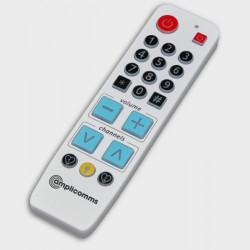 Télécommande universelle avec touches éclairées