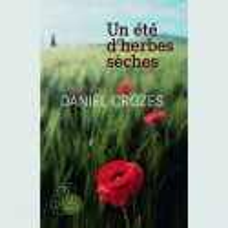 Livre gros caractères - Un été d'herbes sèches - Crozes Daniel