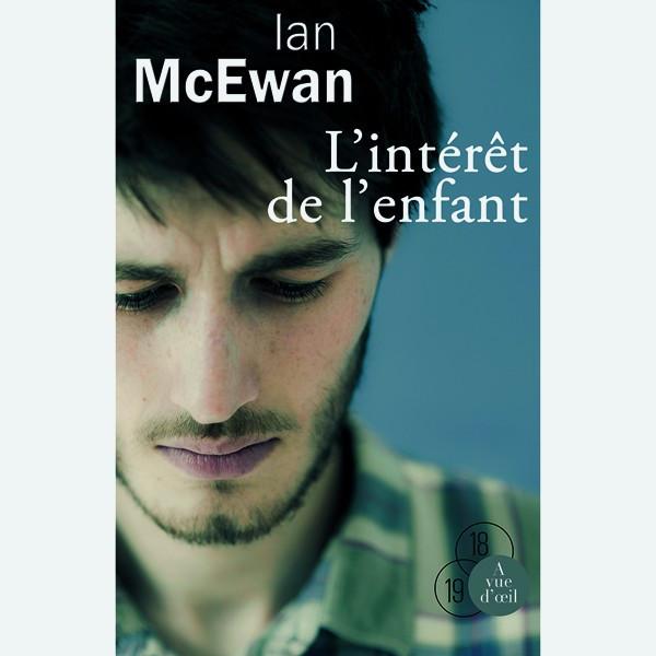 Livre gros caractères - L'Intérêt de l'enfant - McEwan Ian
