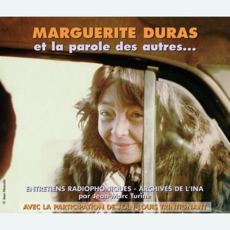 Livre audio - LA PAROLE DES AUTRES - MARGUERITE DURAS