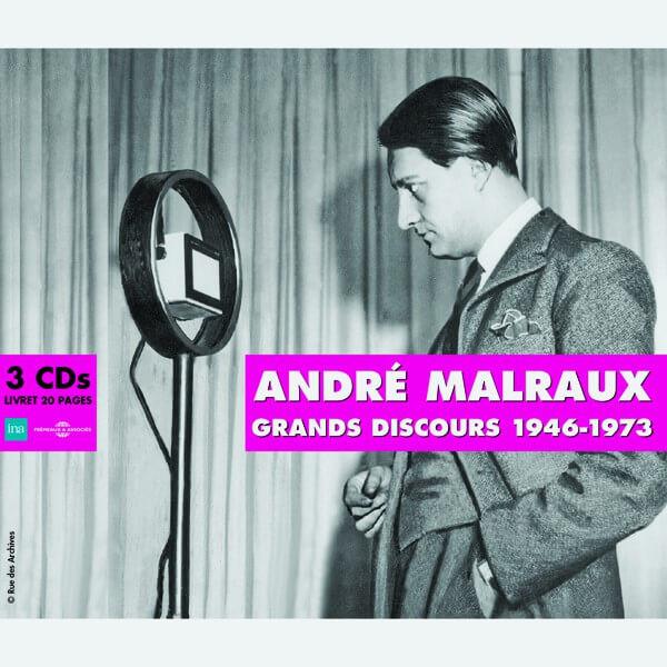 Livre audio - GRANDS DISCOURS 1946-1973 - ANDRE MALRAUX