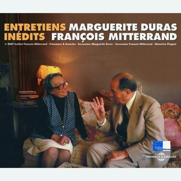 Livre audio - ENTRETIENS INEDITS - FRANCOIS MITTERRAND - MARGUERITE DURAS