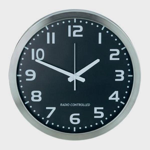 Horloge murale à gros chiffres