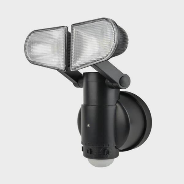 Lampe murale avec détecteur de mouvements