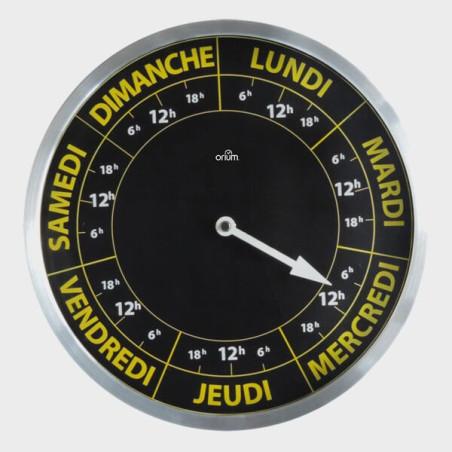 Horloge Calendrier 7 jours Gros Caractères