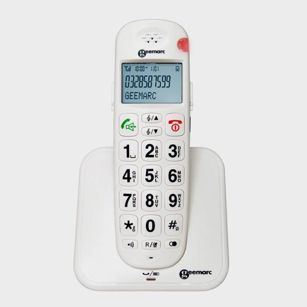 t l phone sans fil grosses touches amplifi cflou. Black Bedroom Furniture Sets. Home Design Ideas