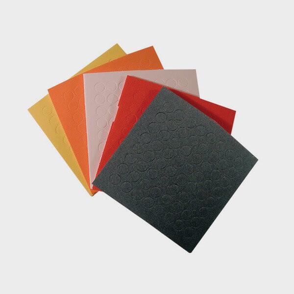 Pack de repères tactile colorés