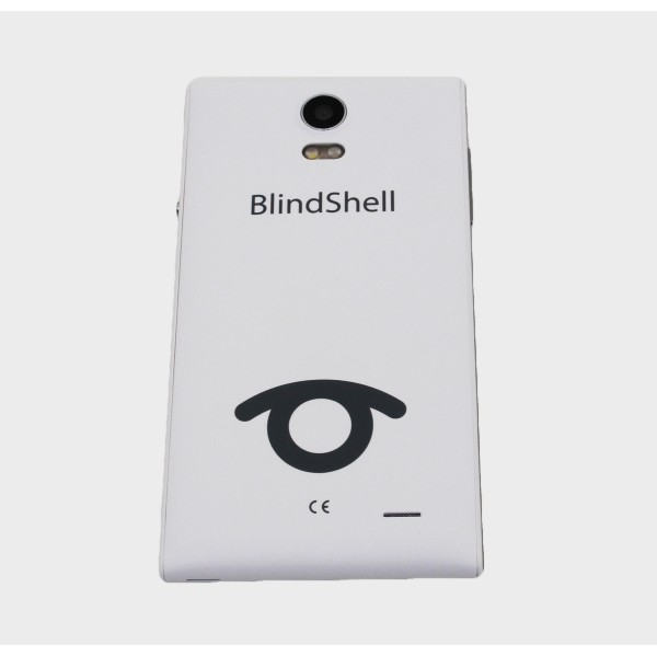 Smartphone simplifiée parlant Blindshell