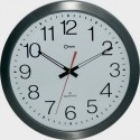 Horloge à gros chiffres en inox étanche
