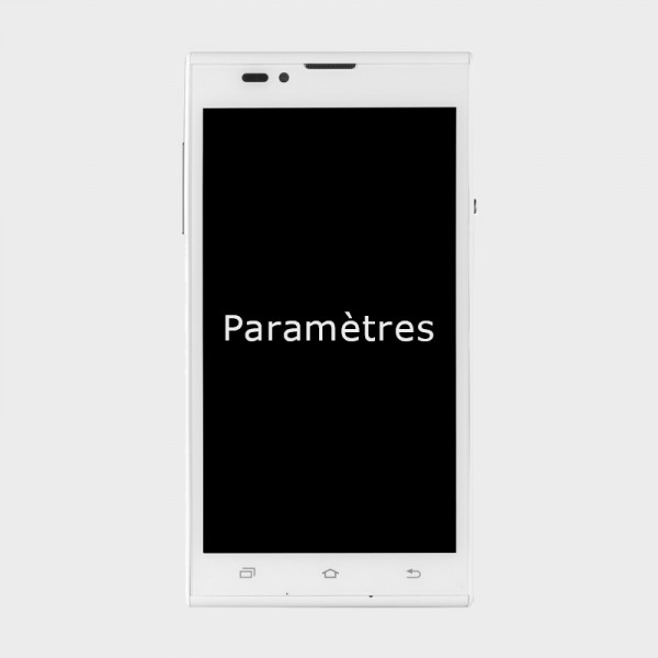 Smartphone parlant simplifiée Blindshell