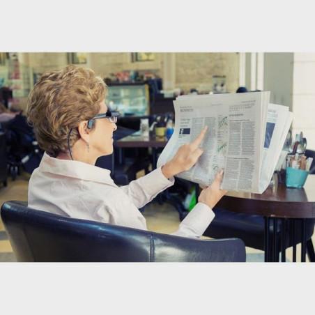 Lire le journal avec les MyEye