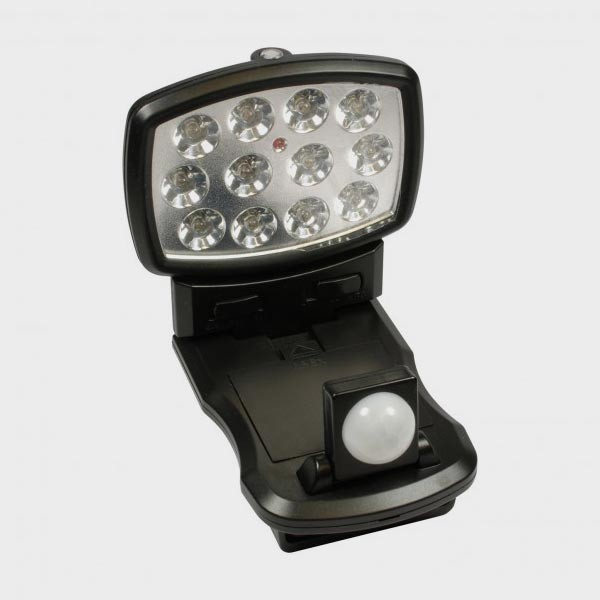 Lampe détecteur de mouvements