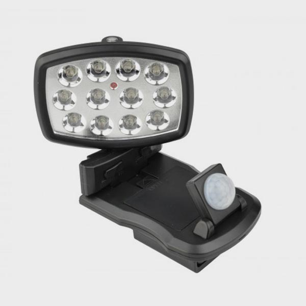 Lampe pivotante détecteur de mouvements