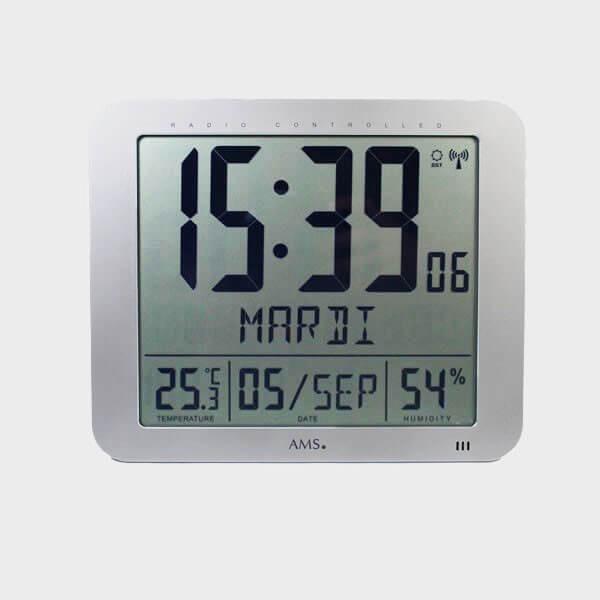 Horloge calendrier automatique à gros chiffres