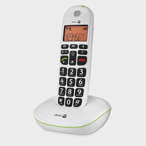 Téléphone sans fil et grosses touches DORO 100W