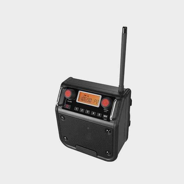 Radio FM avec écran rétroéclairé