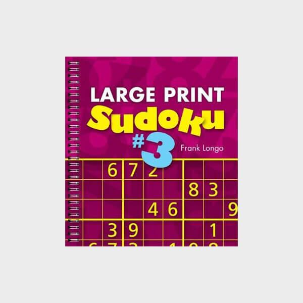 Jeu Sudoku à grands caractères