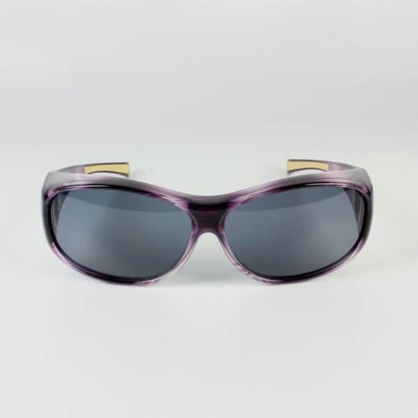 Sur lunettes violet filtre polarise Gris anti lumière bleue