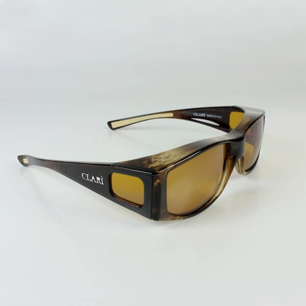 Sur-lunettes filtre polarisé anti-lumière bleue