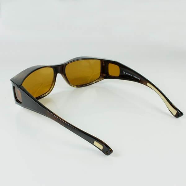 Sur-lunettes Virgo filtre polarisé anti-lumière bleue