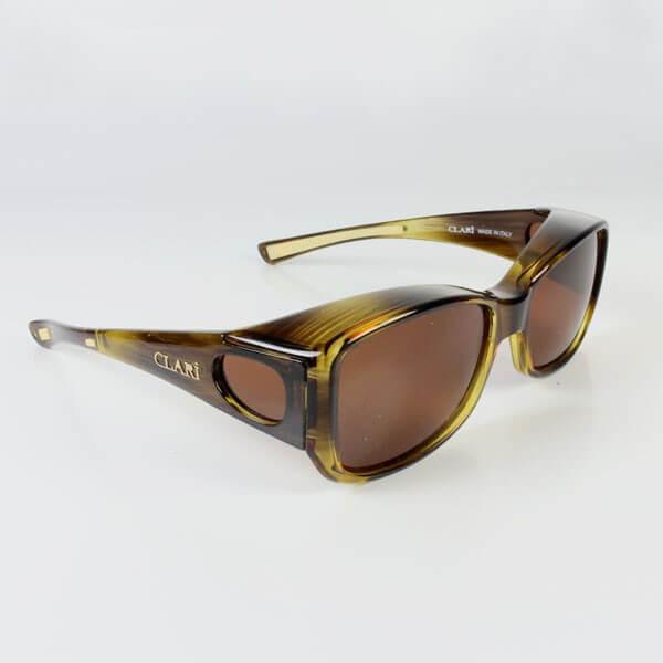 Sur lunettes Carina filtre polarisé Marron anti lumière bleue