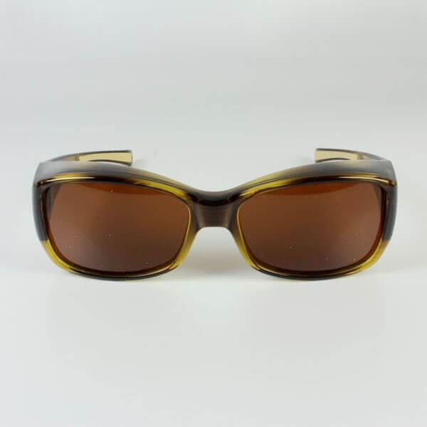 Sur lunettes filtre polarisé Marron anti lumière bleue
