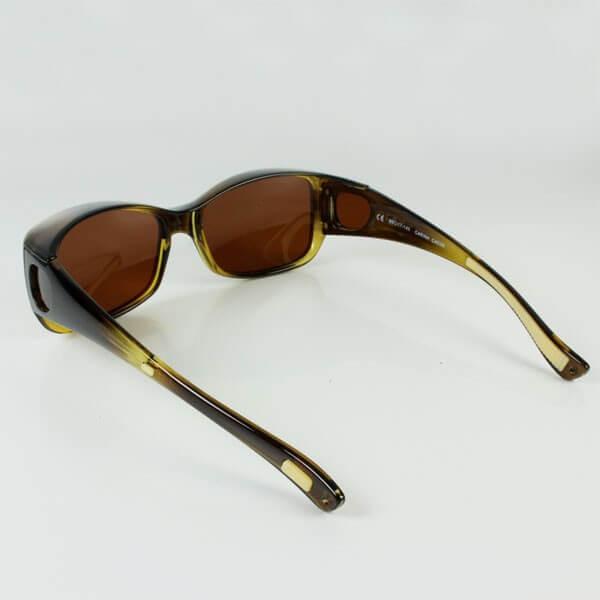 Sur lunettes Carina couleur Marron