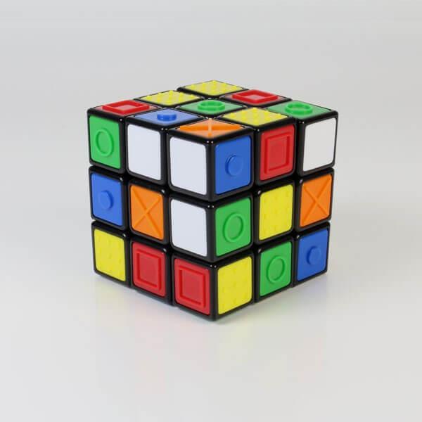 Rubiks Cube avec repères tactiles