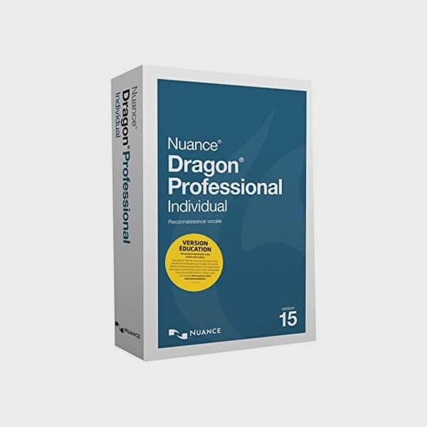 Logiciel de reconnaissance vocale Dragon Professional DPI