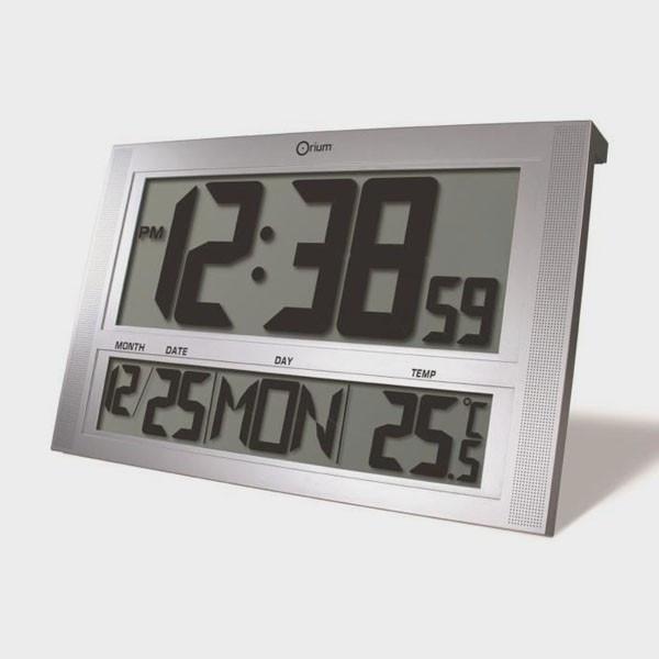 Horloge calendrier gros chiffres pour mal voyan