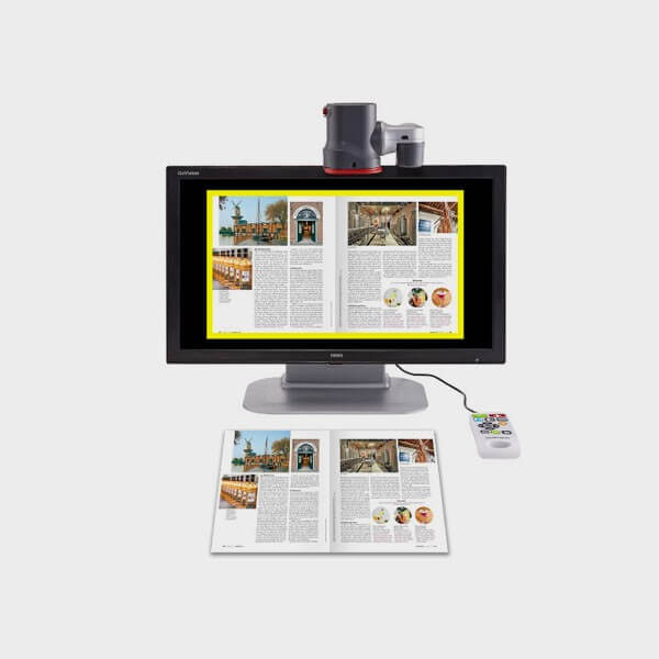 Tele agrandisseur GoVision Pro avec OCR