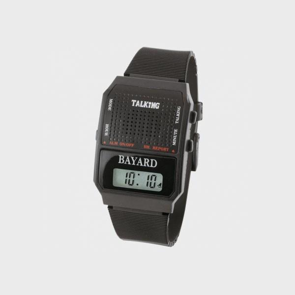 Montre parlante carrée digitale avec alarme