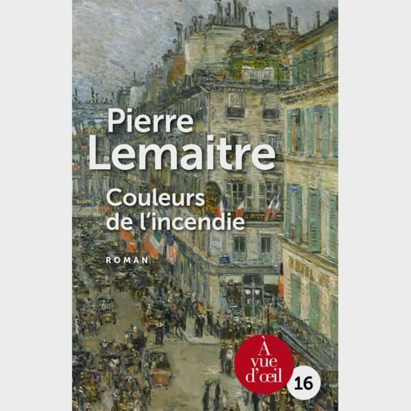 Livre gros caractères - Couleur de l'incendie (2 volumes) - Pierre Lemaitre