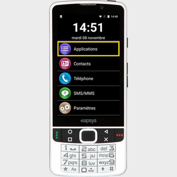 Téléphone Smartvision 2 de Kapsys