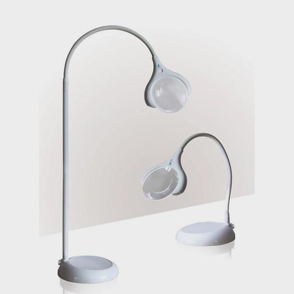 Lampe-loupe LED Magnificent pour table ou sur Pied