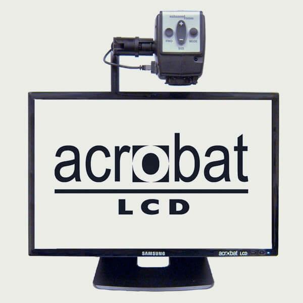 Téléagrandisseur Acrobat LCD 22 pouces pour malvoyant