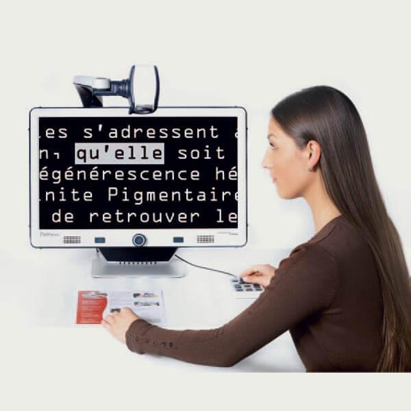 Téléagrandisseur pour malvoyant Da Vinci