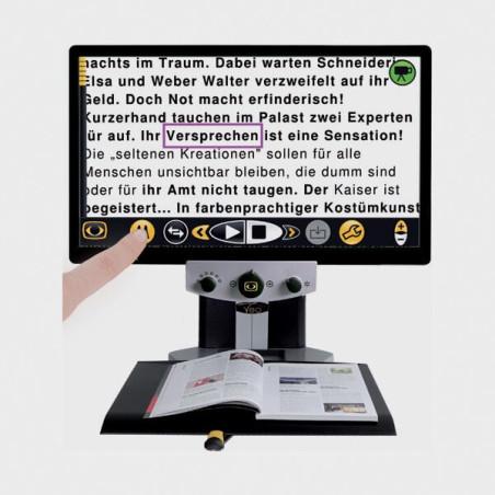 Video agrandiseur pour malvoyants