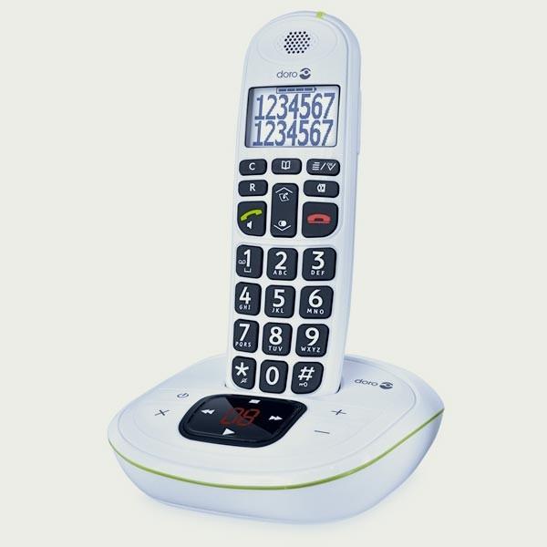 Téléphone sans fil Doro PhoneEasy 115 avec répondeur
