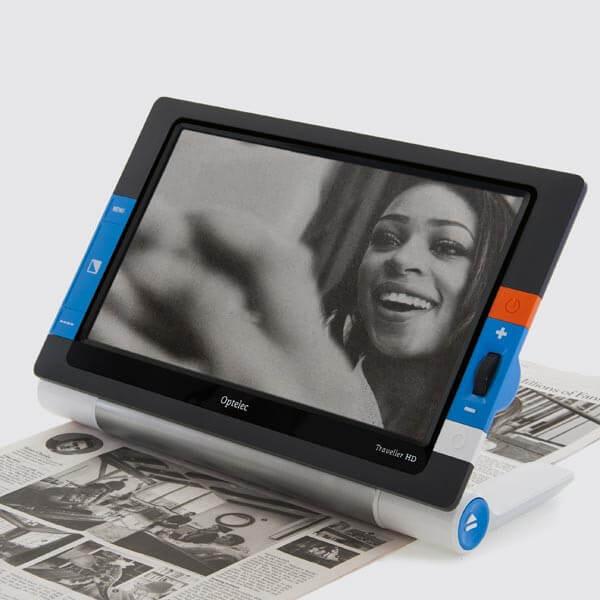 Optelec Traveler HD pour agrandir les photos