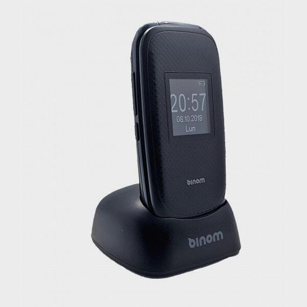 Téléphone portable grosses touches à clapet