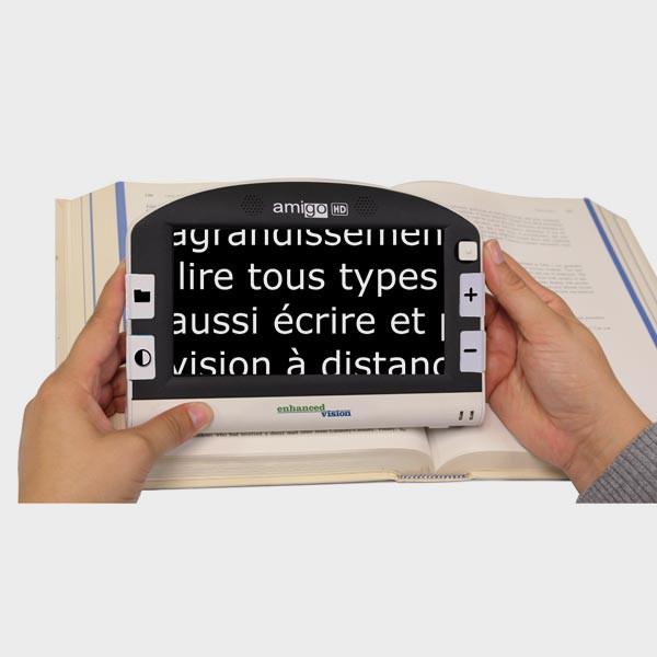 Loupe électronique AMIGO HD 7 pouces pour lecture