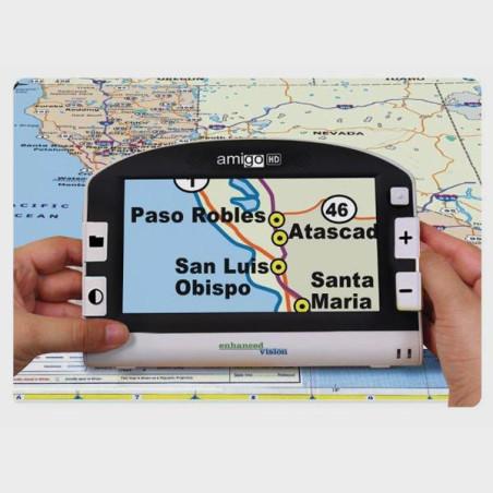 Loupe électronique AMIGO HD 7 p carte