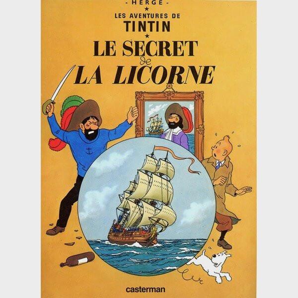 Livre audio - Tintin : Le secret de la Licorne