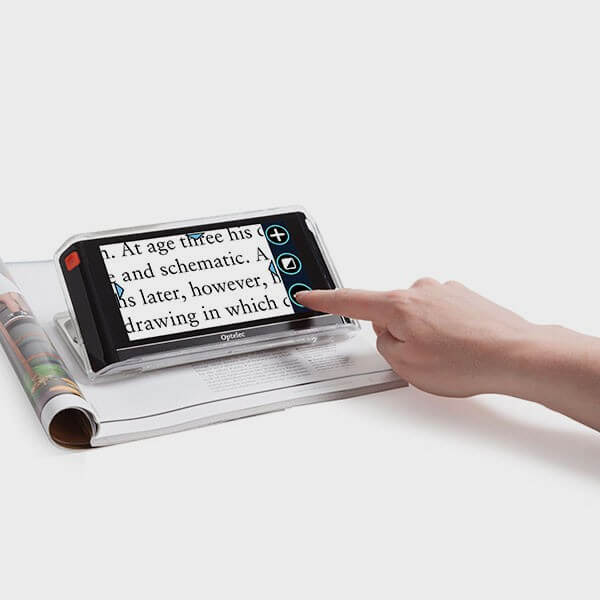 Loupe Lecture numérique 6 pouces HD