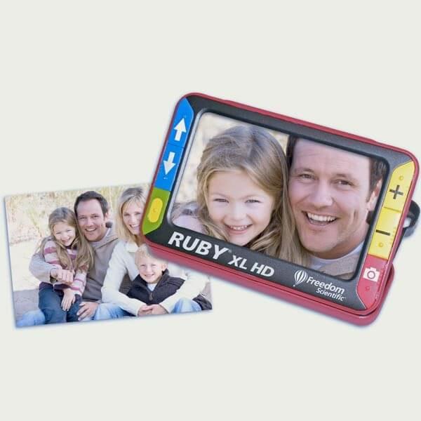 Loupe électronique Ruby 2x à 14x HD