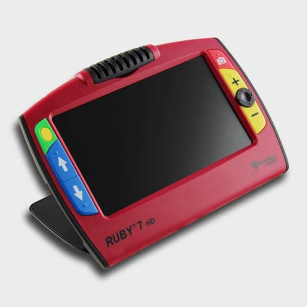 Loupe Ruby 7 HD pour malvoyant