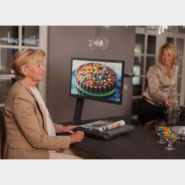Télé agrandisseur ClearView C exemple de présentation