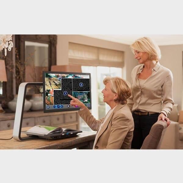 Téléagrandisseur parlant Optelec ClearView C HD Speech 24''