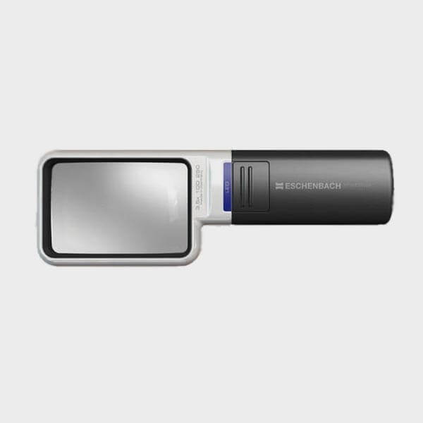Loupe Mobilux LED rectangulaire 4x